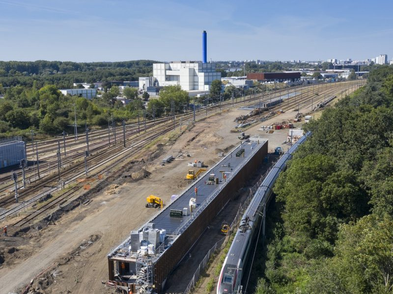 Poste d'aiguillage SNCF Grand Blottereau